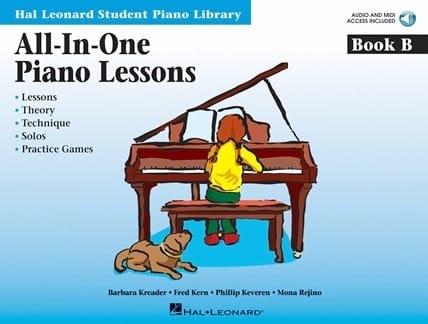 All In One Piano Lessons Book B - laflutedepan.com