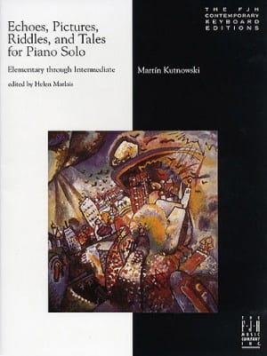 Echos, Pictures, Riddles and Tales for Piano solo - laflutedepan.com