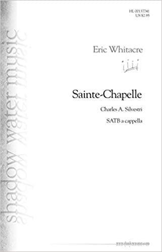 Sainte-Chapelle - Eric Whitacre - Partition - Chœur - laflutedepan.com