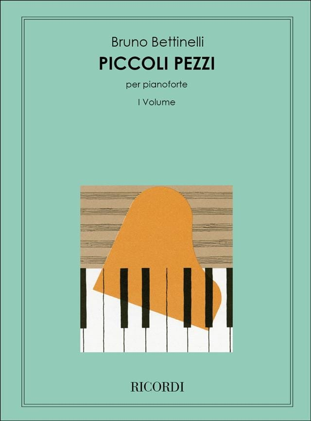 Piccoli pezzi - Bruno Bettinelli - Partition - laflutedepan.com