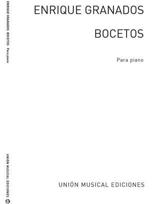 Bocetos - Enrique Granados - Partition - Piano - laflutedepan.com