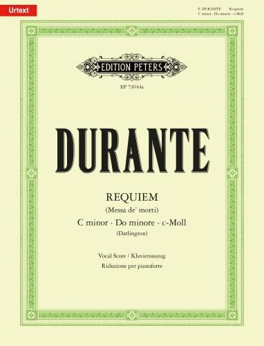 Requiem en Do mineur - Francesco Durante - laflutedepan.com