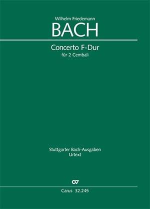 Concerto en Fa majeur pour 2 Clavecins - laflutedepan.com
