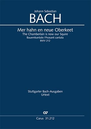 BACH - Cantate 212 Sea Hahn En Neue Oberkeet - Partition - di-arezzo.es