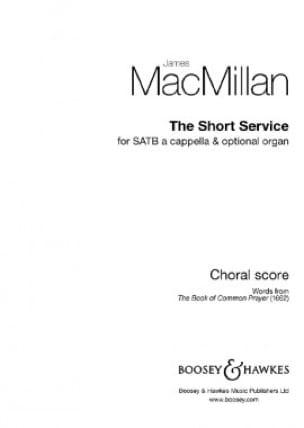 The Short Service - James MacMillan - Partition - laflutedepan.com