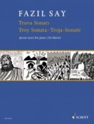 Fazil Say - Truva Sonatu Opus 78 - Partition - di-arezzo.co.uk