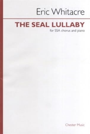 Eric Whitacre - The Seal Lullaby SATB - Partition - di-arezzo.co.uk