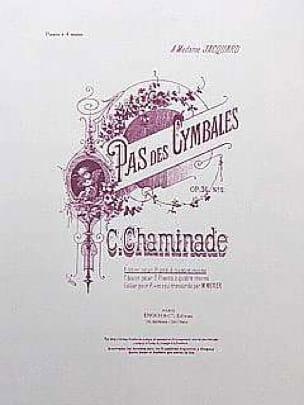Pas des Cymbales op. 36-2 - Cécile Chaminade - laflutedepan.com