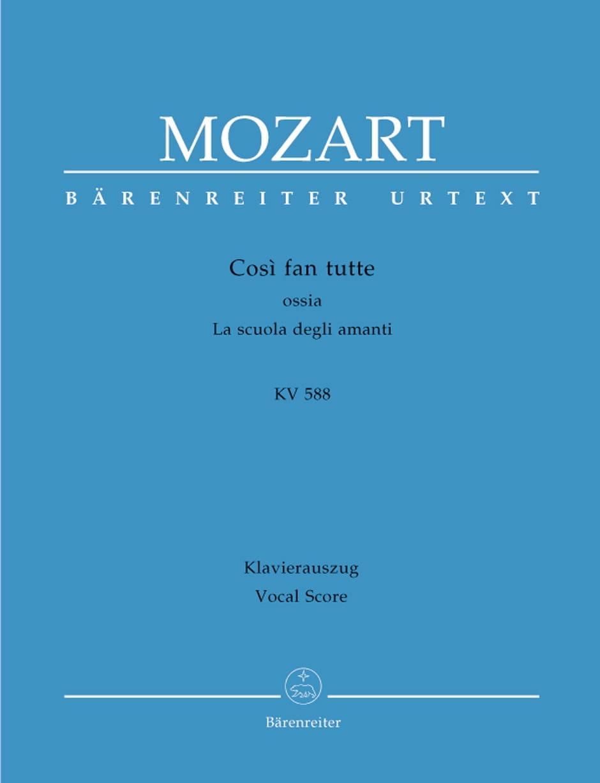 Così Fan Tutte. Edition Reliée - MOZART - Partition - laflutedepan.com