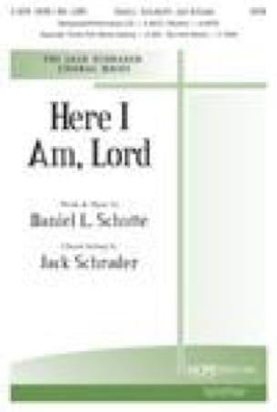 Here I am Lord - Dan Schutte - Partition - Chœur - laflutedepan.com