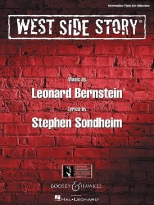 Leonard Bernstein - West Side Story - Piano - Partition - di-arezzo.co.uk