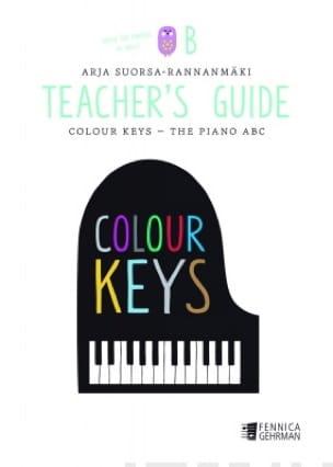 Colour Keys the Piano ABC (Volume B) - Teacher's Guide - laflutedepan.com
