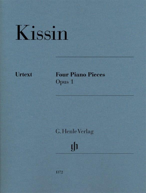 Evgeny Kissin - ピアノ作品のための4つの小品1 - Partition - di-arezzo.jp
