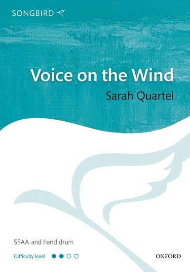 Voice on the wind - Sarah Quartel - Partition - laflutedepan.com