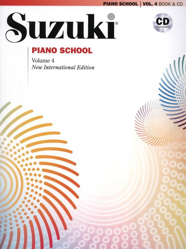 Suzuki Piano School Volume 4 + CD - SUZUKI - laflutedepan.com