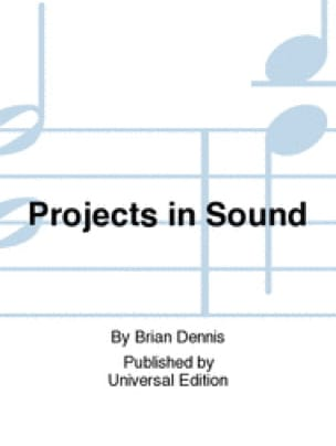 Projects in Sound - Brian Dennis - Partition - laflutedepan.com