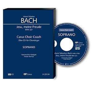 Jesu, meine Freude Bwv 227. CD Basse - BACH - laflutedepan.com