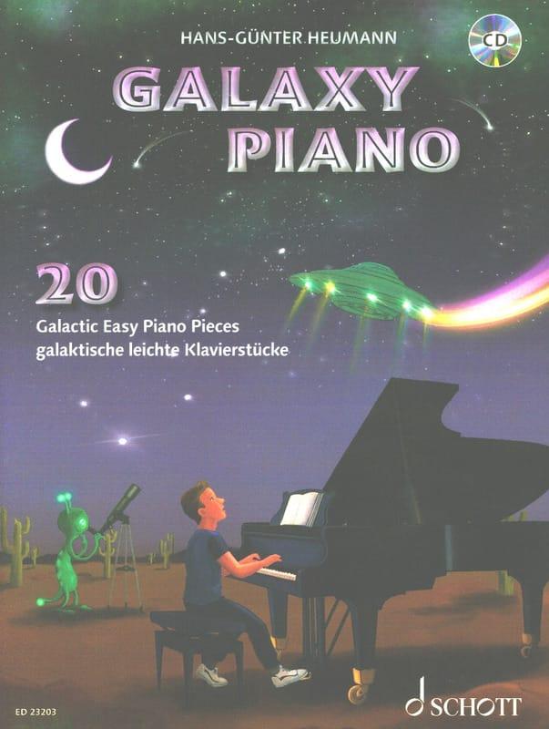 Galaxy Piano - Hans-Günter Heumann - Partition - laflutedepan.com