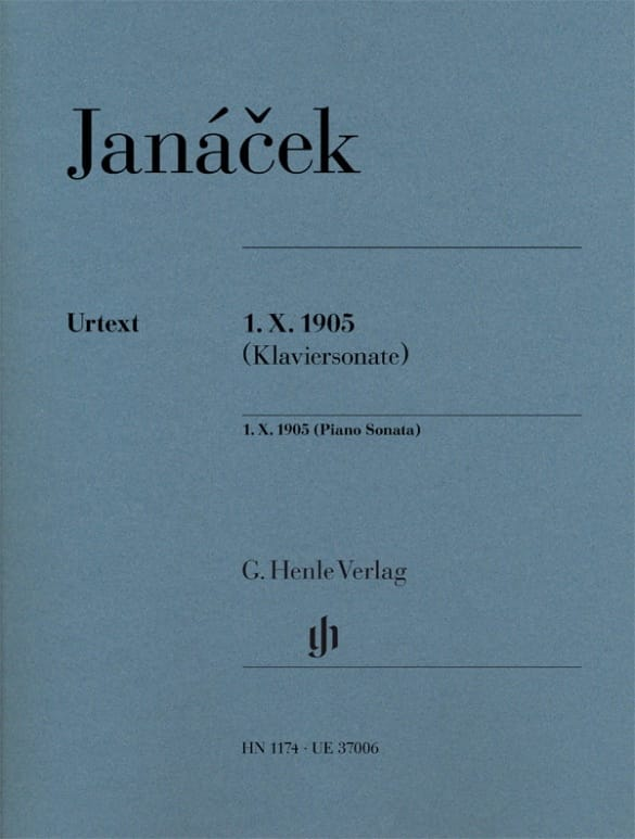 Leos Janacek - Sonata 1 X 1905 - Partition - di-arezzo.co.uk