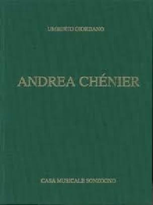 Umberto Giordano - Andrea Chénier - Partition - di-arezzo.com