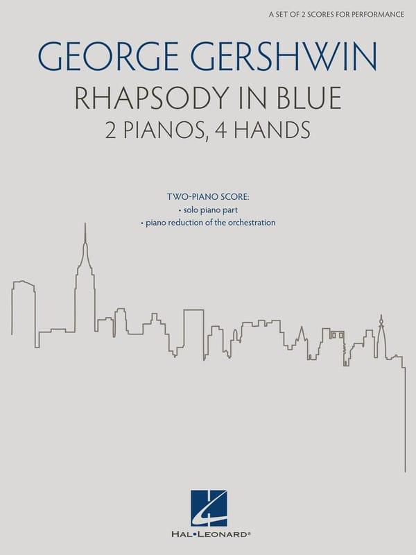 Georges Gershwin - Rhapsodie in Blau. 2 Klaviere - Partition - di-arezzo.de
