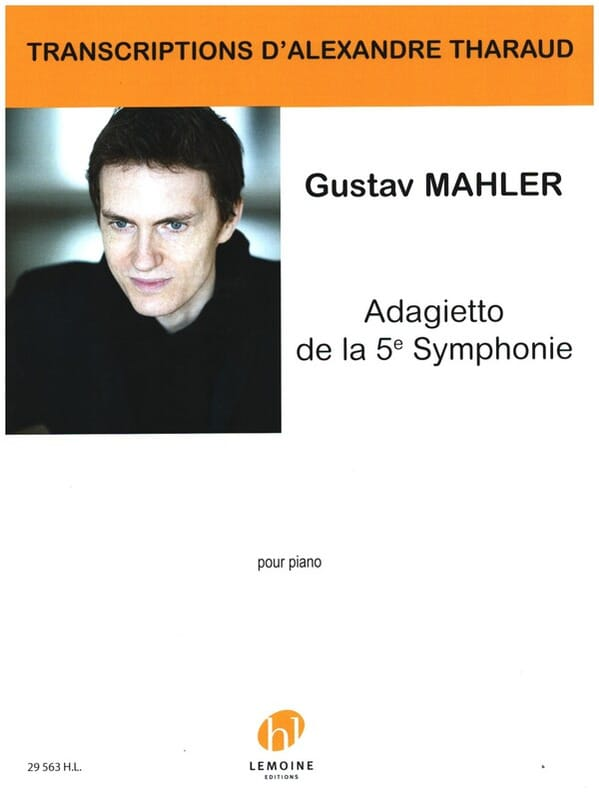 MAHLER - Adagietto of the 5th Symphony - Partition - di-arezzo.co.uk
