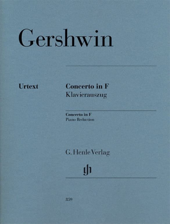 Georges Gershwin - Konzert In F - Partition - di-arezzo.de