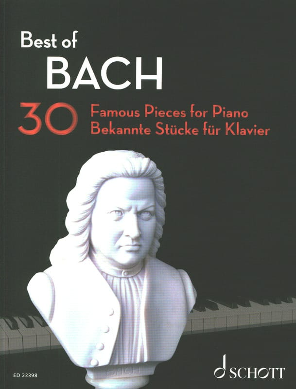 BACH - Best of BACH - Partition - di-arezzo.fr