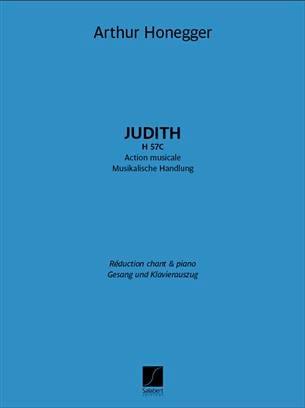Arthur Honegger - Judith H 57C - Partition - di-arezzo.fr