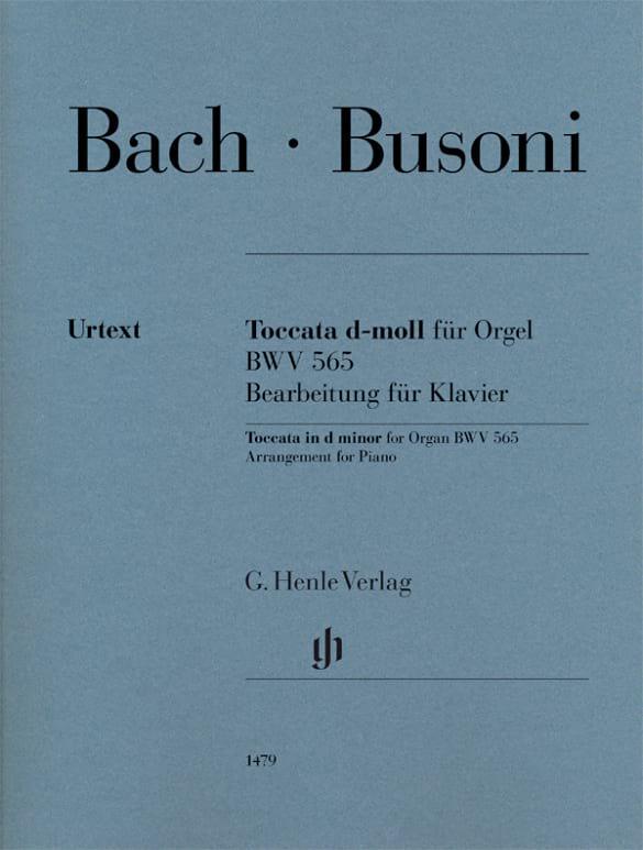 BACH / BUSONI - Partition - di-arezzo.co.uk