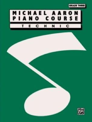 Piano Course - Technic - Volume 3 - AARON - laflutedepan.com