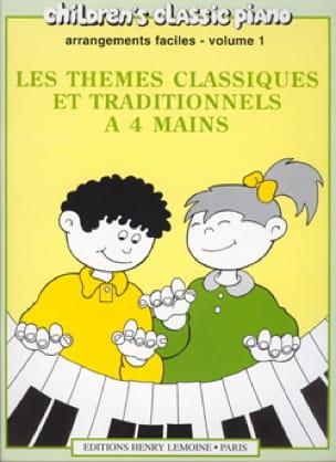 - Berühmte klassische und traditionelle Themen Band 1. 4 Hände - Partition - di-arezzo.de