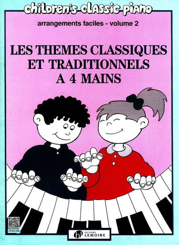 - Berühmte klassische und traditionelle Themen Band 2. 4 Hände - Partition - di-arezzo.de