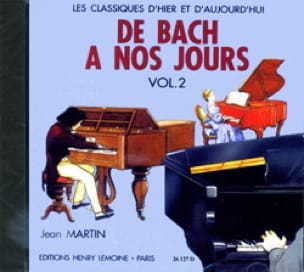 DE BACH A NOS JOURS - from Bach to our Days - Volume 2A - CD - Partition - di-arezzo.co.uk