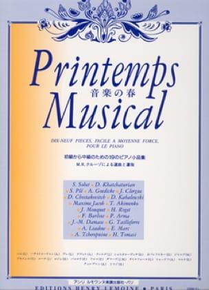 Printemps Musical - Partition - Piano - laflutedepan.com