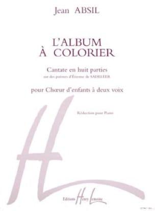 Jean Absil - Libro de colorear Opus 68 - Partition - di-arezzo.es