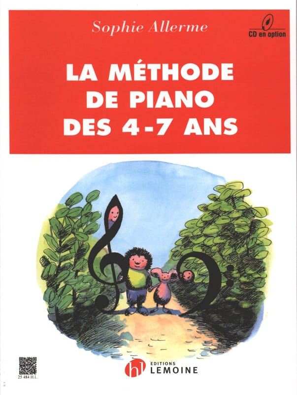 - Méthode de Piano 4-7 Ans - Partition - di-arezzo.fr