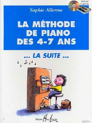 Sophie Allerme - Piano Method 4-7 Years. The following - Partition - di-arezzo.co.uk