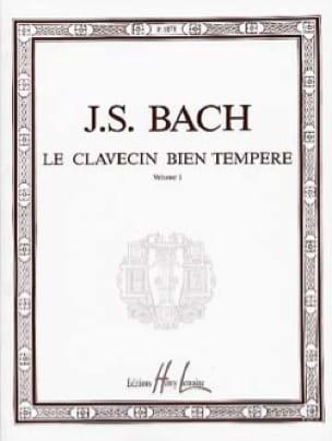 Le Clavecin Bien Tempéré, Volume 1 - BACH - laflutedepan.com