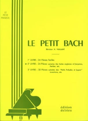 BACH - The Little Bach Volume 2 - Partition - di-arezzo.co.uk