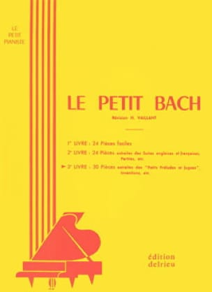 BACH - The Petit Bach Volume 3 - Partition - di-arezzo.co.uk
