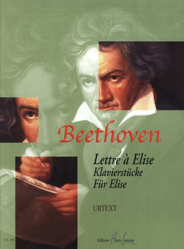 BEETHOVEN - Letter to Elise - Partition - di-arezzo.co.uk