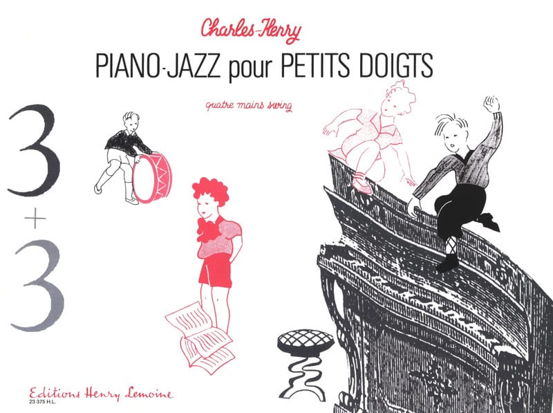 3 + 3. 4 Mains - Charles-Henry - Partition - Piano - laflutedepan.com