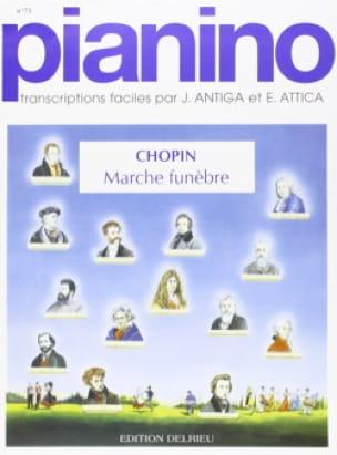 Marche Funèbre - Pianino 75 - CHOPIN - Partition - laflutedepan.com
