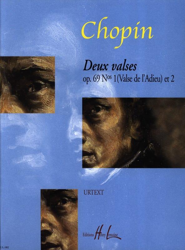 2 Valses Opus 69 Posthumes - CHOPIN - Partition - laflutedepan.com