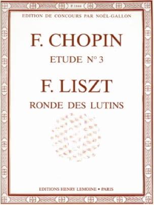 Etude n° 3 / Ronde des Lutins - laflutedepan.com
