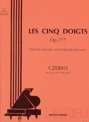 Les Cinq Doigts Opus 777 - CZERNY - Partition - laflutedepan.com