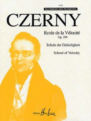 CZERNY - School of Velocity Opus 299. - Partition - di-arezzo.co.uk