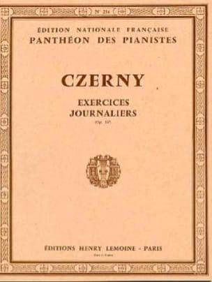 40 Exercices Journaliers Opus 337 - CZERNY - laflutedepan.com