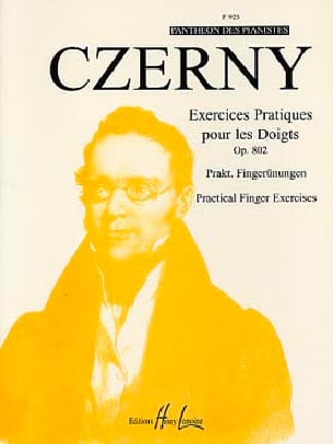 CZERNY - Practical Exercises for Fingers - Opus 802 - Partition - di-arezzo.co.uk